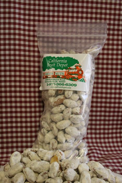 1/2 lb. Orange Honey Almonds