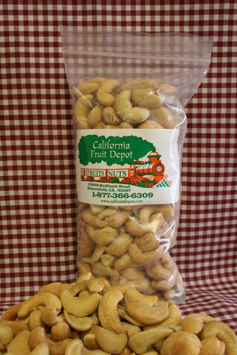 1/2 lb. Roasted Salted Cashews